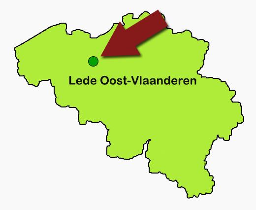 Kerstbomen Oost Vlaanderen